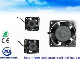 Low Noise 60mm Small Explosion Proof Exhaust Fan 220CV / 240V Ac Fridge Cooling Fan